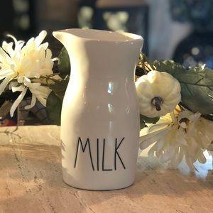 """Rae Dunn """"Milk"""" creamer or vase"""